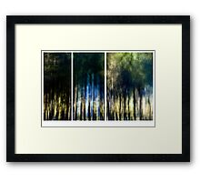 Drive by shooting #01 Framed Print