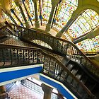 Elegant Stairway by Marylou Badeaux