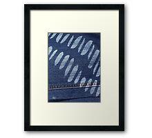 A Light on the Blues Framed Print