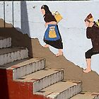 Walking on the Wall by Marylou Badeaux