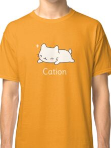 Funny Cat T-shirt for Science Lovers  Classic T-Shirt