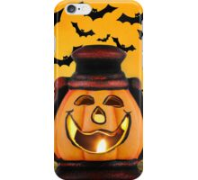 Pumpkin lantern iPhone Case/Skin