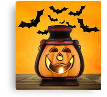 Pumpkin lantern Canvas Print