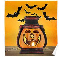 Pumpkin lantern Poster