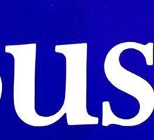 George Bush for President sticker Sticker