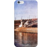 Vintage Great Lakes Freighter iPhone Case/Skin