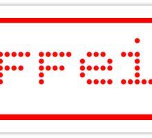 Caffeine Graphic Sticker