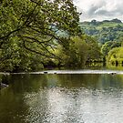River Rothay, South Lakeland District, Cumbria, England by fotosic