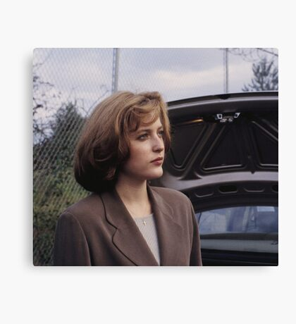 Dana Scully in show  Canvas Print