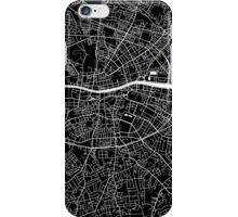 Dublin Map (Black) iPhone Case/Skin