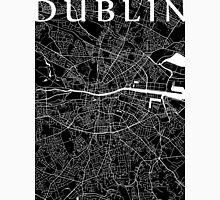 Dublin Map (Black) Unisex T-Shirt