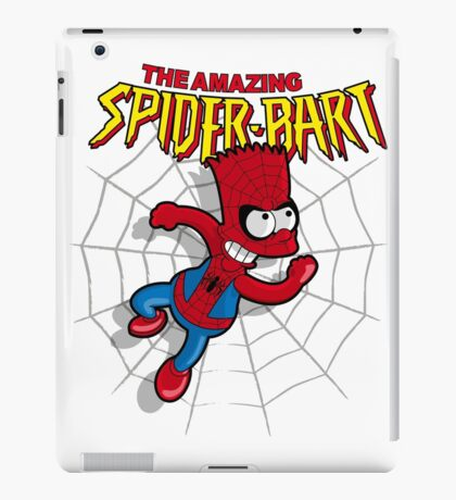Spiderbart: Bart Simpson as Spider-man iPad Case/Skin