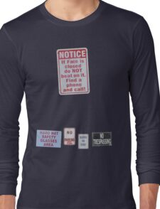 sIGn LanGUaGe Long Sleeve T-Shirt