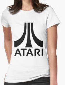 ATARI Classic Game Womens Fitted T-Shirt