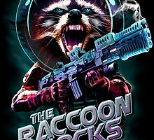 THE RACCOON ROCKS by MEDIACORPSE