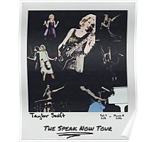 The Speak Now Tour - Polaroid Art Poster