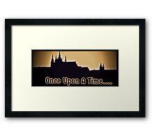 Once.... Framed Print
