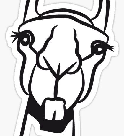 Kamel lustig doof witzig  Sticker