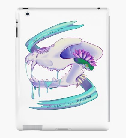 Drooling Skull iPad Case/Skin