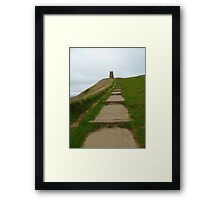 Walk Up The Tor Framed Print