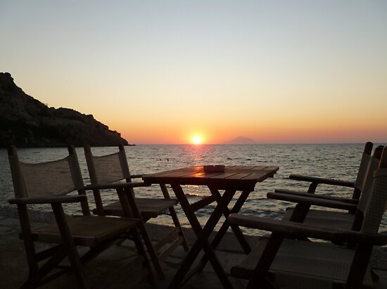 Sit down and enjoy the sunset! by Vicki Spindler (VHS Photography)