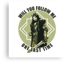 Will You Follow Me Canvas Print