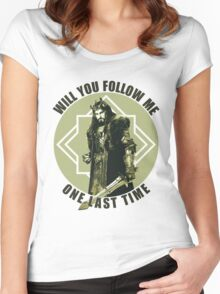 Will You Follow Me Women's Fitted Scoop T-Shirt