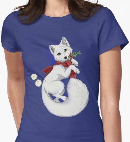 Arctic Cutie Womens Fitted T-Shirt