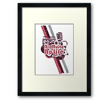 No Music No Life Framed Print