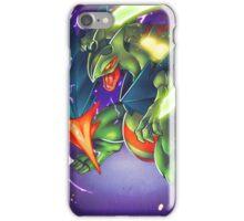 Dragon Blade! Mega Sceptile! iPhone Case/Skin
