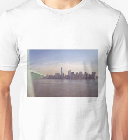 View of Manhattan Island from the Crown of the Statue of Liberty Unisex T-Shirt