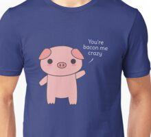 Cute and kawaii bacon pun Unisex T-Shirt
