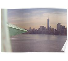 Manhattan Island from the Crown of the Statue of Liberty Poster