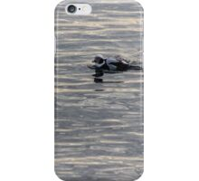 Gliding on Moire Silk iPhone Case/Skin