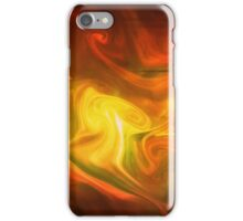 paint and ink in water #13 iPhone Case/Skin