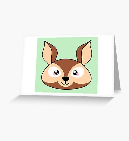 Deer - Forest animal collection Greeting Card