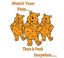 watch your step Photographic Print
