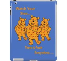 watch your step iPad Case/Skin