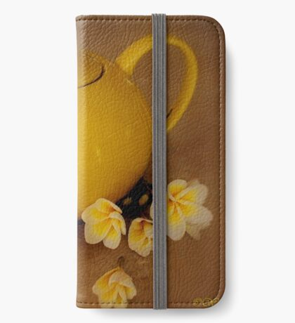 My Yellow Teapot iPhone Wallet