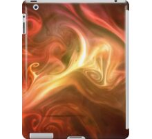 paint and ink in water #11 iPad Case/Skin