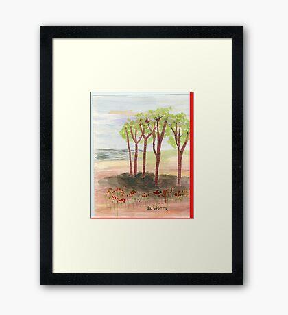 copes Framed Print