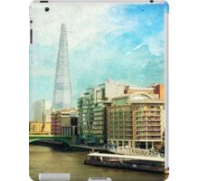 The Shard and The Thames - London iPad Case/Skin