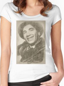 Chico Marx, Comedian Women's Fitted Scoop T-Shirt