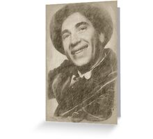 Chico Marx, Comedian Greeting Card