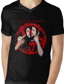 $UICIDE Mens V-Neck T-Shirt