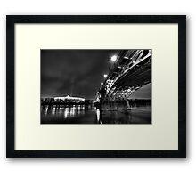 National Stadion, Poniatowski Bridge, Warsaw, Poland Framed Print