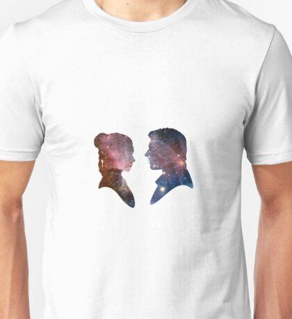Han and Leia - Galaxy Unisex T-Shirt