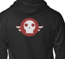 Skull squadron logo Zipped Hoodie