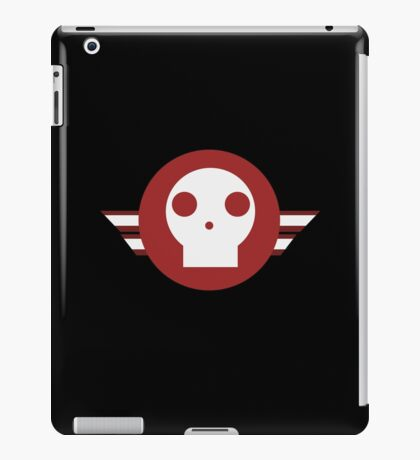 Skull squadron logo iPad Case/Skin