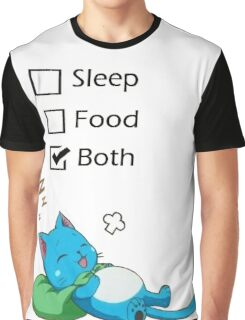 Happy Fairy Tail Graphic T-Shirt